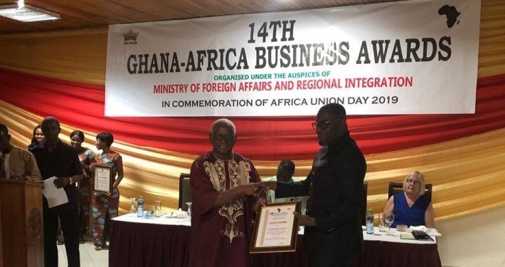 GroFin Ghana wins Ghana-Africa Business Awards 2019