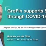 GroFin COVID-19 support