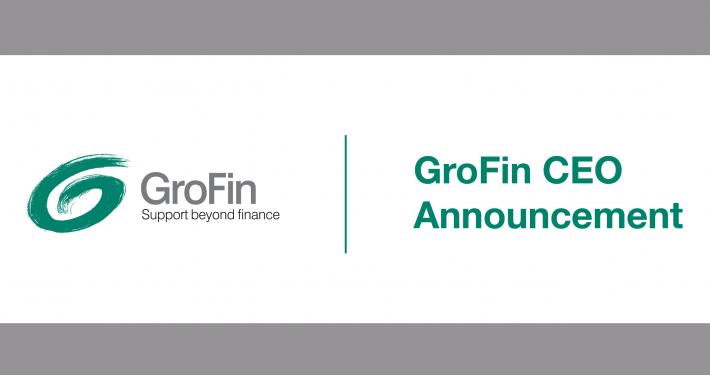 GroFin CEO Announcement