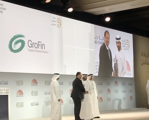 GroFin wins 2018 Islamic Economy Awards in the category of 'SME Development'