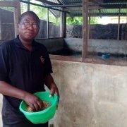 GroFin Nigeria client Olusegun fish farming entrepreneur